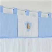 Cortina Urso Escudo Azul