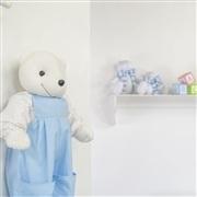 Quarto para Bebê Urso Escudo Azul