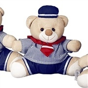 Enfeite Urso M Marinheiro