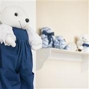 Quarto para Bebê Urso Escudo Marinho