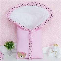 Porta Bebê Mimos Rosa