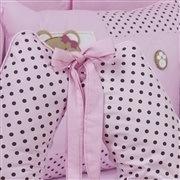 Quarto para Bebê Sem Cama Babá Mimos Rosa