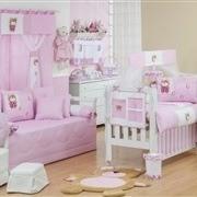 Quarto para Bebê Mimos Rosa