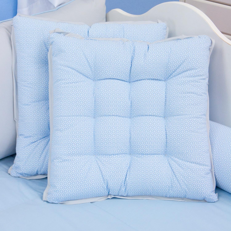 Almofadas Decorativas Futton Ursinho Travesso Azul