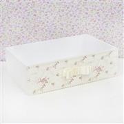 Kit Higiene Ursa Floral com Pérolas