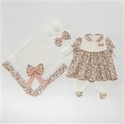 Saída Maternidade Vestido Charm Floral RN