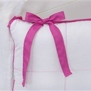 Kit Berço Clean Pink e Branco