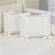 Almofadas Decorativas Laços Ursinho Travesso Palha