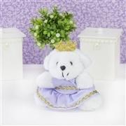 Ursa Mini Princesa Lilás