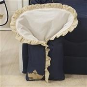 Porta Bebê Príncipe Marinho Premium