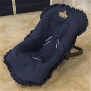 Capa de Bebê Conforto Príncipe Marinho Premium