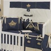 Quarto para Bebê sem Cama Babá Príncipe Marinho Premium