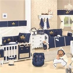 Quarto para Bebê Príncipe Marinho Premium