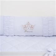 Kit Berço Princesinha Dourada Premium