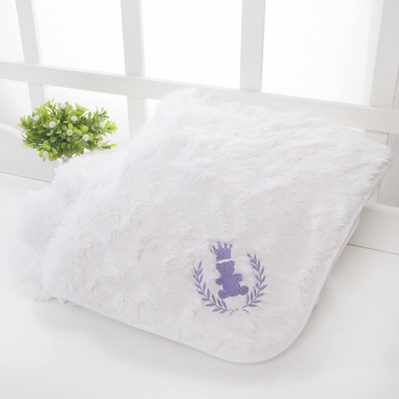 Cobertor Super Luxo Realeza Lilás