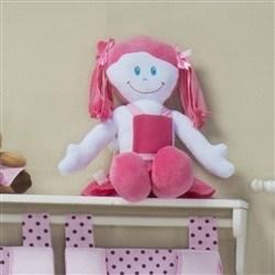 Boneca de Pano Lili Pink