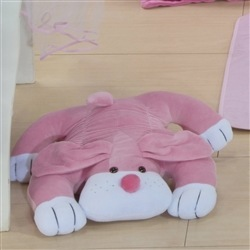 Enfeite Cachorro Deitado Pink
