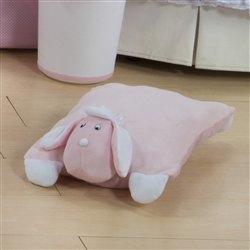 Travesseiro de Plush G Cachorro Rosa