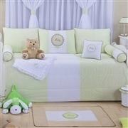 Kit Cama Babá Baby Verde