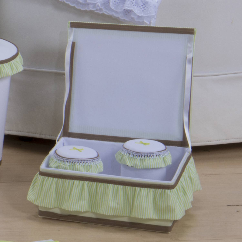 Kit Acessórios Bauzinho Baby Verde