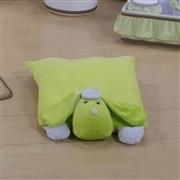 Travesseiro de Plush G Cachorro Verde
