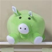 Enfeite Porca com Filhote Verde