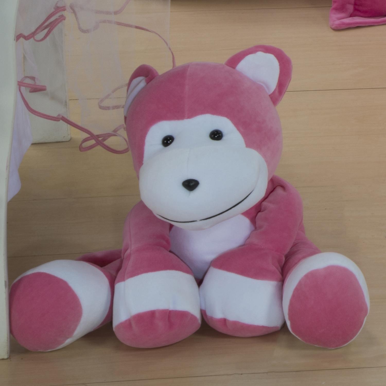 Enfeite Macaquinho Pink