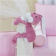 Quarto para Bebê sem Cama Babá Elefantinha Rosa