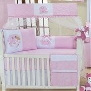 Quarto para Bebê Elefantinha Rosa