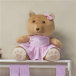 Ursa Requinte M Vestidinho Rosa