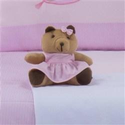 Ursa Requinte P Vestidinho Rosa
