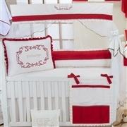 Quarto para Bebê sem Cama Babá Príncipe Vermelho