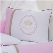 Kit Berço Coroa de Princesa