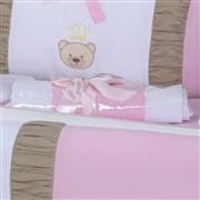 Kit Berço Mimo Baby Rosa