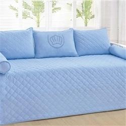 Kit Cama Babá Mimos Coroa Azul