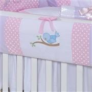 Quarto para Bebê sem Cama Babá Jardim Encantado dos Pássaros