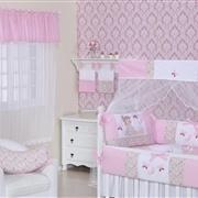 Quarto para Bebê sem Cama Babá Boneca de Pano Rosa
