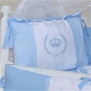 Quarto para Bebê sem Cama Babá Coroa Real Azul