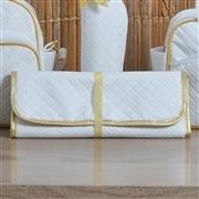 Conjunto de Bolsas Maternidade com Trocador Realeza White