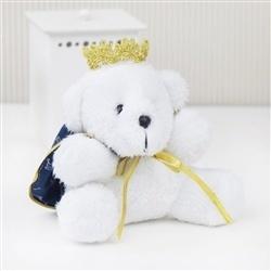Urso Mini Príncipe Realeza Marinho