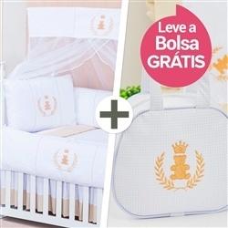 Kit Berço Realeza + Bolsa