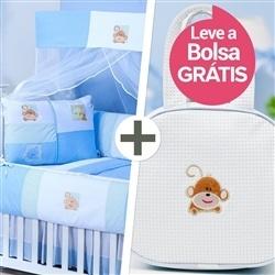 Kit Berço Baby Zoo + Bolsa