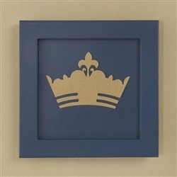 Quadro Decorativo Príncipe Marinho Premium Marinho
