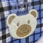 Quarto para Bebê sem Cama Babá Urso Realeza Marinho