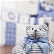 Quarto para Bebê Urso Realeza Marinho