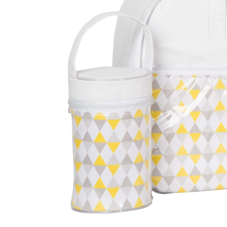 Porta Mamadeira Maternidade Trisse Branco