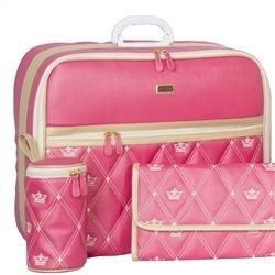 Mala Maternidade Master Coronate Pink