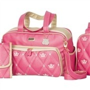 Bolsa Maternidade Master Coronate Pink