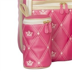 Porta Mamadeira Maternidade Master Coronate Pink