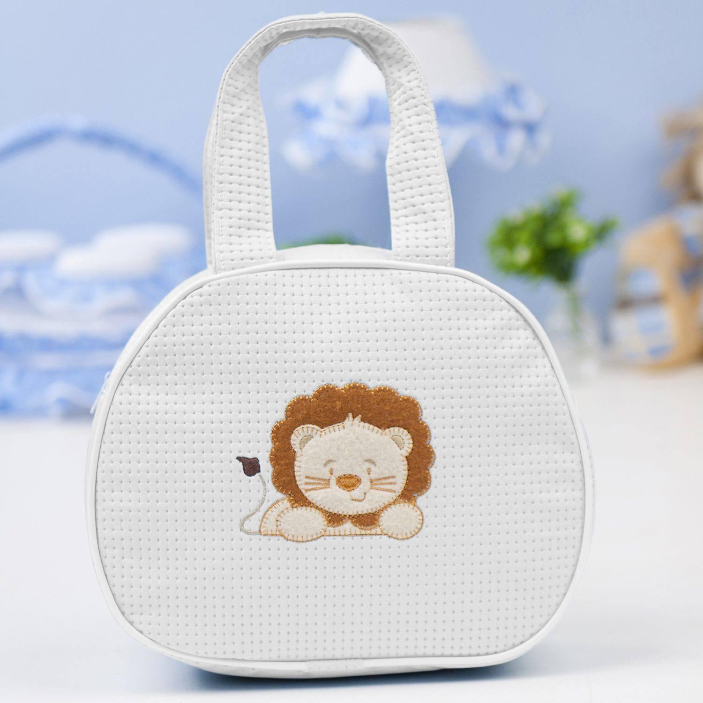 Bolsa Maternidade Leãonardo Branca
